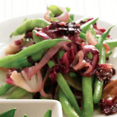 Green Beans with Radicchio