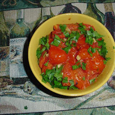 Baked Tomatoes With Garlic (Tomates'a La Provencale)