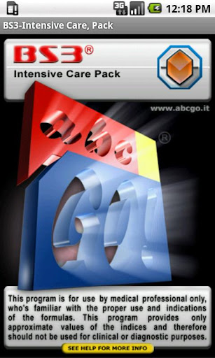 BS3 Intensive Care Pack