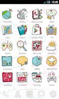 Screenshot of SWEET IconChange smilebox free