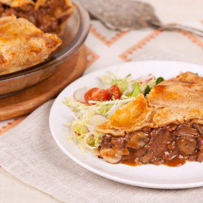 Beef and Mushroom Pie CBC Best Recipes Ever