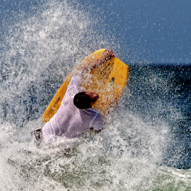 Yellow by John Phielix - Sports & Fitness Surfing ( water, surfer, surfboard, sport,  )