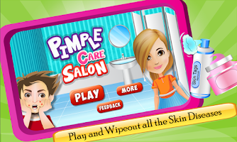 Screenshot of Pimple Care Salon