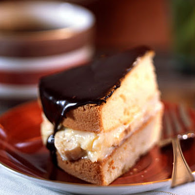 Banana Boston Cream Pie