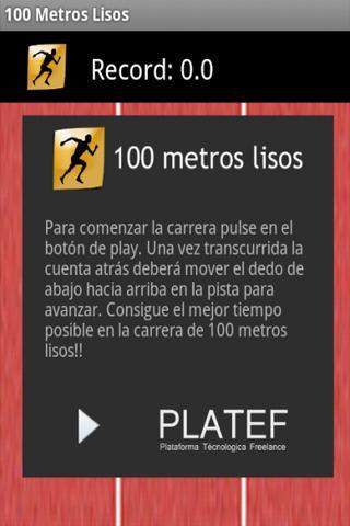 100 Metros Lisos