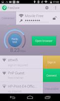 Screenshot of Free Zone - Free WiFi Scanner
