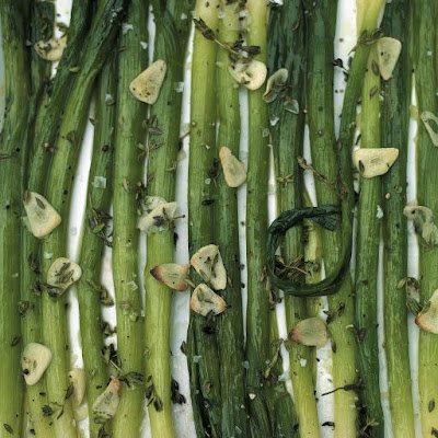 Roasted Baby Leeks With Thyme