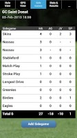 Screenshot of mScorecard 8 - Golf Scorecard