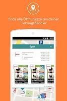 Screenshot of meinKauf Cashback & Prospekte