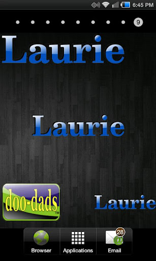 Laurie doo-dad