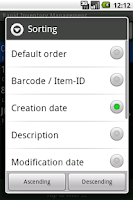 Screenshot of Rapid Inventory, Free