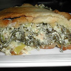 Spinach and Leek Tart