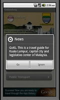 Screenshot of GoBandung