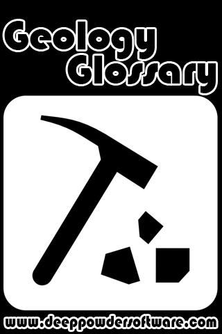 Geology Glossary