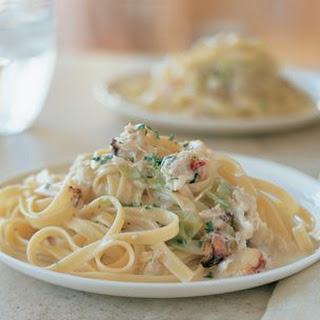 Tagliatelle with Crab and Tarragon