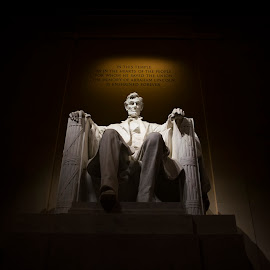 Lincoln Memorial by Pete Lambertz - Novices Only Objects & Still Life ( president, statue, lincoln memorial, washington dc, national mall )