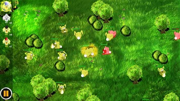 Screenshot of Bunny Wars: Egg Defence