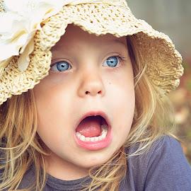 Surprise! by Lucia STA - Babies & Children Child Portraits