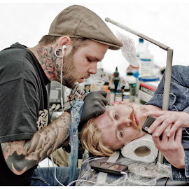 Midleton tattoo fair by Dermot O'Mahony - People Body Art/Tattoos