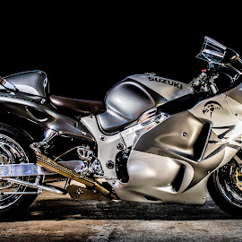 Busa by Gert Rosslee - Transportation Motorcycles ( motorcycles, bike, motorbike, biking, biker, motorcycle )