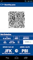 Screenshot of JetBlue