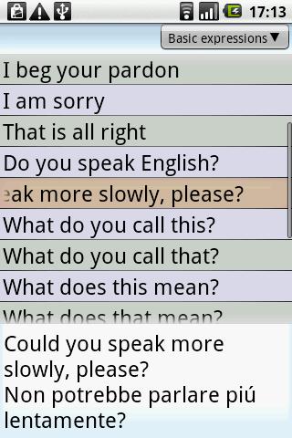 BKS English-Italian PhraseBook