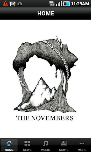THE NOVEMBERS OFFICIAL APP