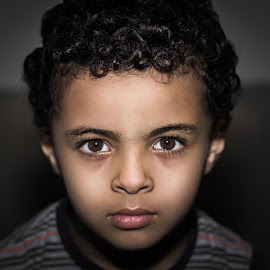 pretty face by Mohammed Al-shadeed - Babies & Children Child Portraits ( #600d #baby #canon #child #eyes #face #flash #portrait #pretty )