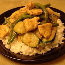 Honey-Mustard Chicken Stir-Fry