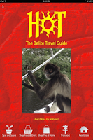 Screenshot of Belize Travel Guide