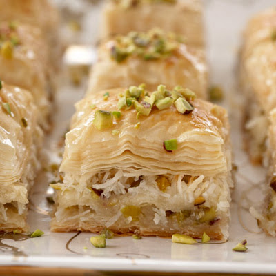 Coconut and Pistachio Baklava
