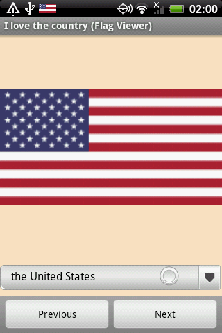 I love the country Flag Viewer