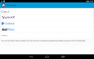 Screenshot of Mails -All in one Email Client