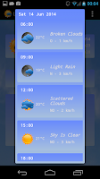 Screenshot of Live Weather Lite