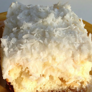 Easy and Light Coconut Cake