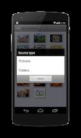 Screenshot of Background images Board