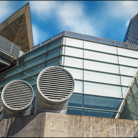 by Jay Rinehart - Buildings & Architecture Architectural Detail ( *musuem *glass *tacoma *architecture )