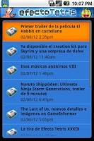 Screenshot of EfectoTetris