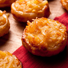 Pineapple-Coconut Tartlets Recipe