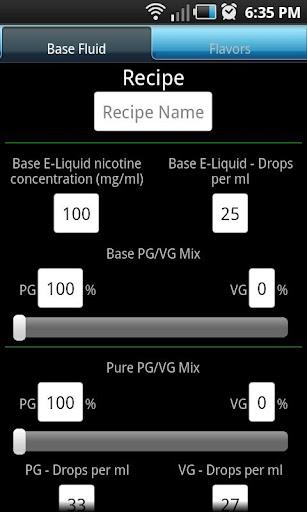 Advanced E-Liquid Calc Full