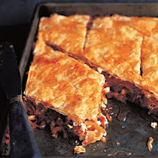 Tomato, Feta, Almond And Date Baklava