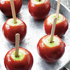 Shiny Red Candy Apples