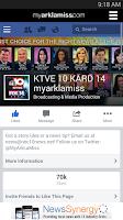 Screenshot of KTVE-NBC-10