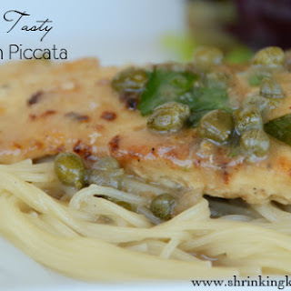 Light & Tasty Chicken Piccata with Pasta