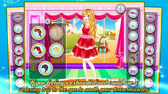 Princess SPA & Dressup - screenshot