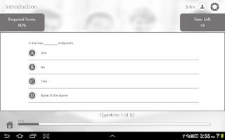Screenshot of Learn Geometry