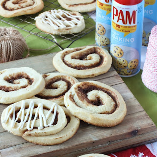 Cinnamon Roll Sugar Cookies with Cream Cheese Icing