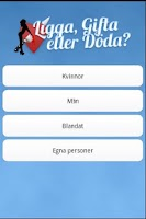 Screenshot of Ligga Gifta eller Döda