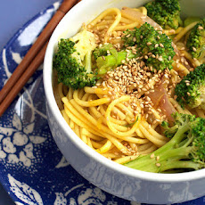 Broccoli Curry Udon