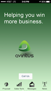 Avintus App - screenshot
